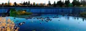 free lake nature facebook cover