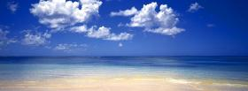 free beautiful beach nature facebook cover