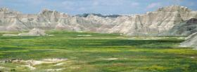 free badlands national park nature facebook cover