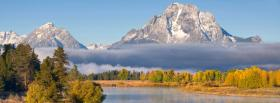 free grand tetons mountain nature facebook cover