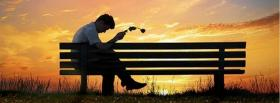 free nature and bench facebook cover