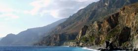 free greek mountains nature facebook cover