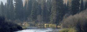 free mountain river nature facebook cover
