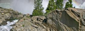 free dangerous cliff nature facebook cover