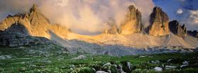 free dolomite mountains italy nature facebook cover