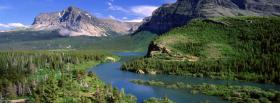 free lake forest mountains nature facebook cover