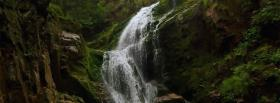 free nice waterfall nature facebook cover