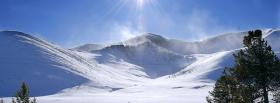 free day and alps nature facebook cover