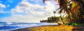 free exotic beach nature facebook cover