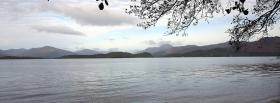 free far away mountains nature facebook cover