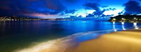 free beach and sunset nature facebook cover