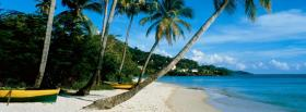 free grand anse beach nature facebook cover
