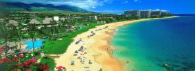 free kaanapali beach maui nature facebook cover