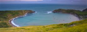 free lulworth cove nature facebook cover