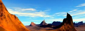 free dried land nature facebook cover