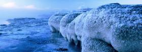 free large ice nature facebook cover