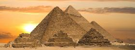 free beautiful pyamids nature facebook cover