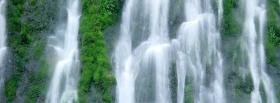 free nature waterfalls facebook cover