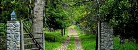free early autumn nature facebook cover