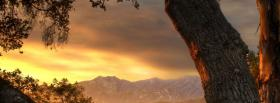 free nature mountain tree facebook cover