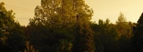 free green trees facebook cover