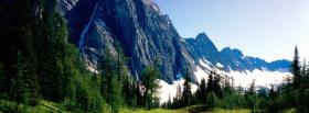 free banff land nature facebook cover