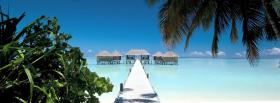 free bungalows and maldives nature facebook cover