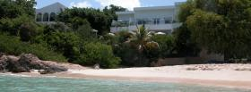 free caribbean beach nature facebook cover