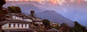 free mountains in asia nature facebook cover