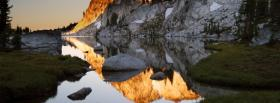 free mountains water forest facebook cover