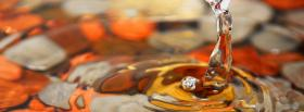 free drop of water nature facebook cover