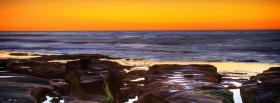 free la jolla cove sunset facebook cover