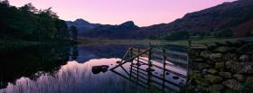 free lake scene nature facebook cover
