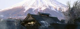free house mountains nature facebook cover