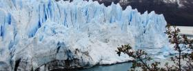 free ice glaciers nature facebook cover