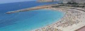 free gran canaria beach nature facebook cover
