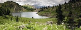 free banff national park nature facebook cover