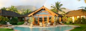 free hawaii house nature facebook cover
