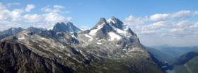 free mountain peak nature facebook cover