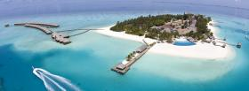 free maldives boat nature facebook cover