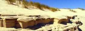 free sand dunes nature facebook cover