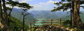 free mountain view nature facebook cover