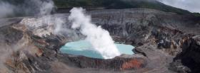 free poas volcano nature facebook cover