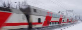 free train nature facebook cover