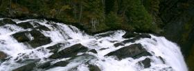 free falls nature facebook cover