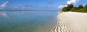 free maldives island nature facebook cover