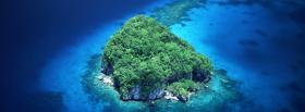 free rock islands palau nature facebook cover