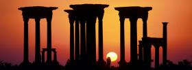 free palmyra syria nature facebook cover
