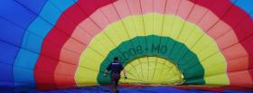 free human parachute nature facebook cover