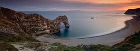 free durdle door nature facebook cover
